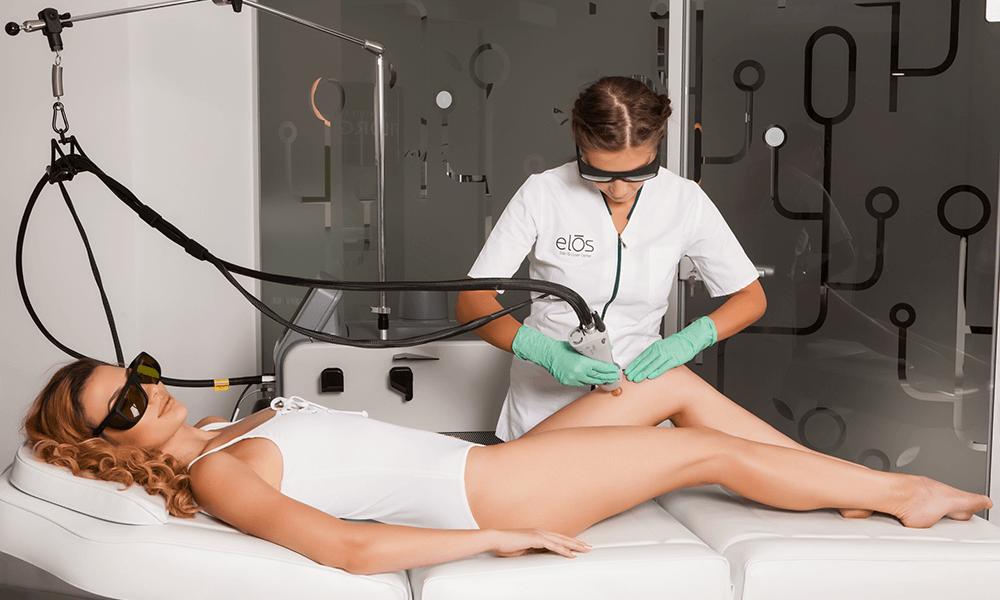 Tratamente profesionale cu laser impotriva leziunilor vasculare. Tratamente oferite de Derma Expert by Elōs